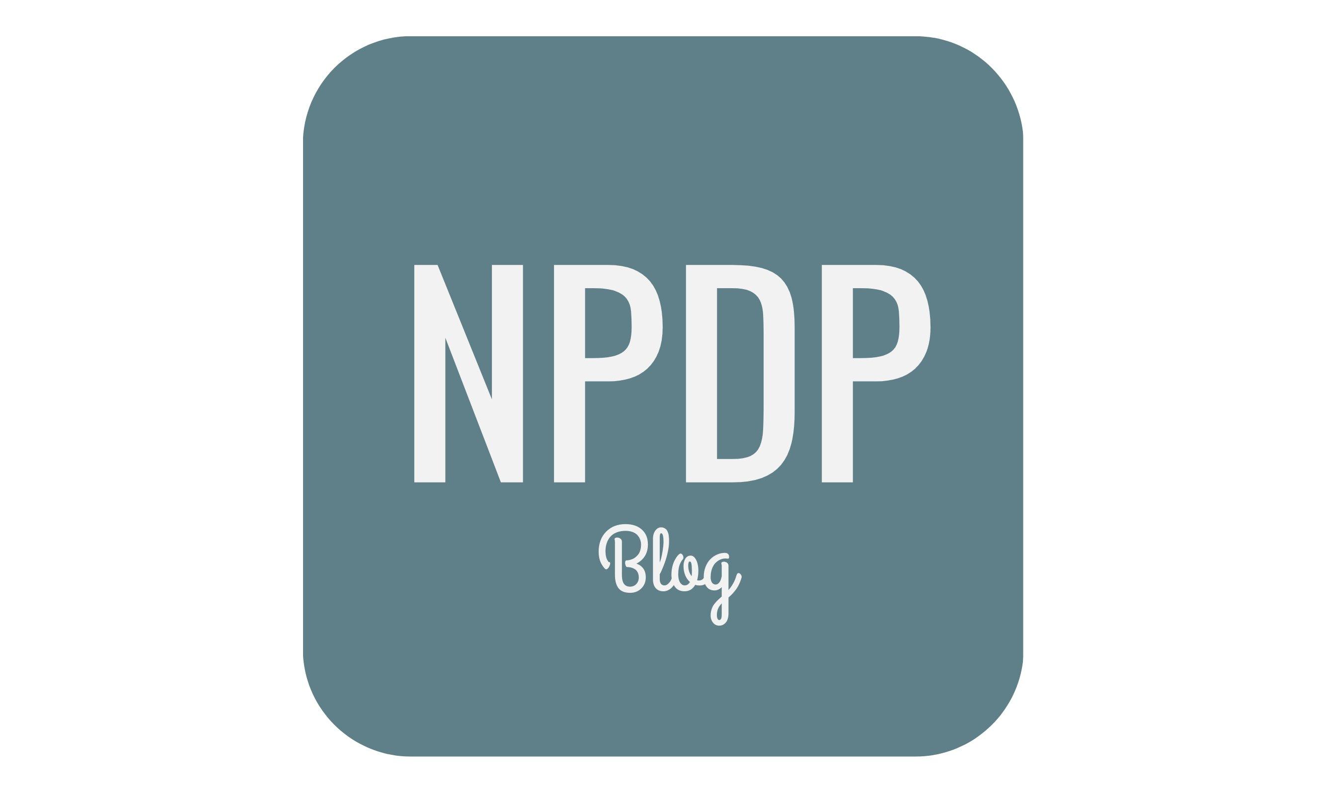 NPDP Blog